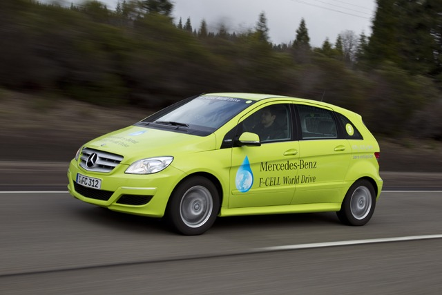 Mercedes benz invisibility cloak for Mercedes benz fuel cell