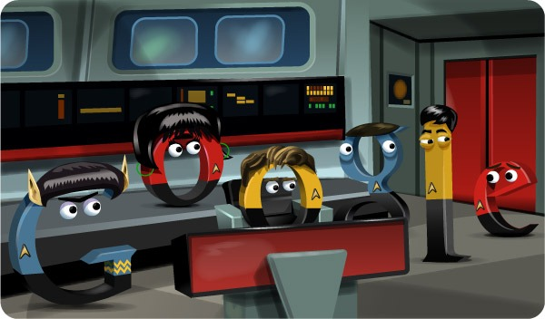 Boldly going where no Google Doodle has gone before