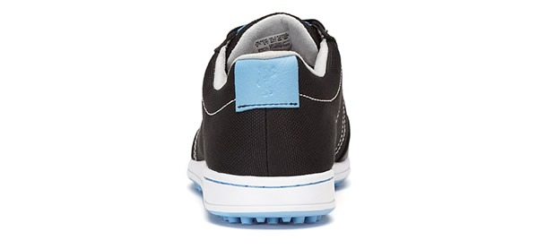 Casual style with Cardiff Mesh Ashworth Golf Shoes, Rear