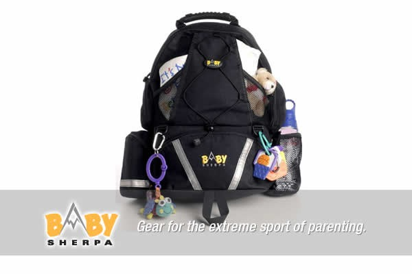 baby sherpa diaper backpack for guys. Black Bedroom Furniture Sets. Home Design Ideas