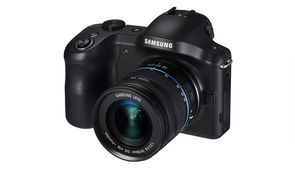 Samsung Galaxy NX Camera, Front