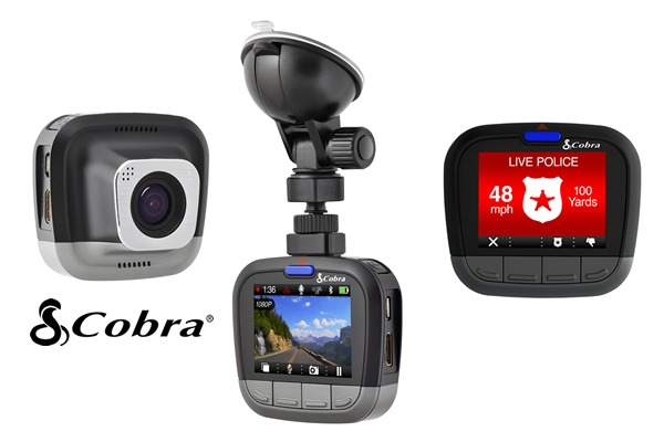 Gadget Gift Guide for Guys 15/16, Cobra CDR 855 BT dashcam 1080P Full HD