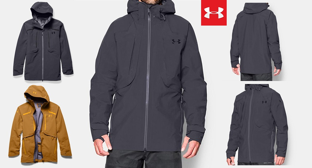 Layering up for Winter with Under Armour