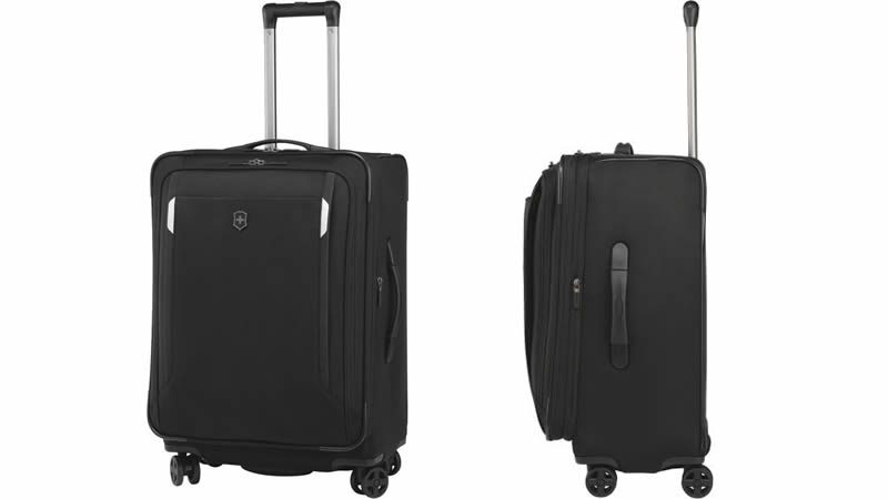 """WT 5.0 24"""" Dual-Caster Luggage Bag"""