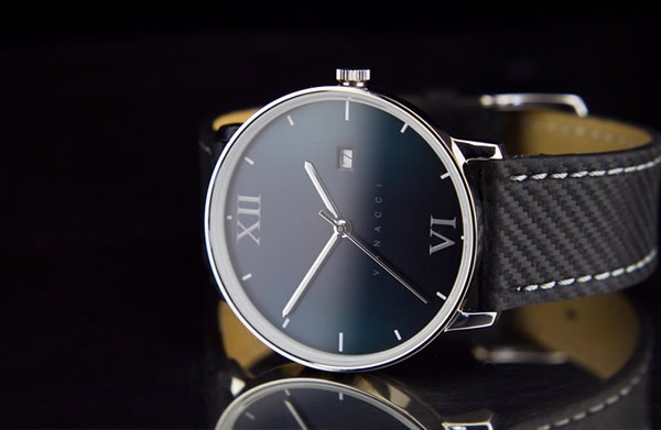 Vanacci Watch Carbon Leather Edition