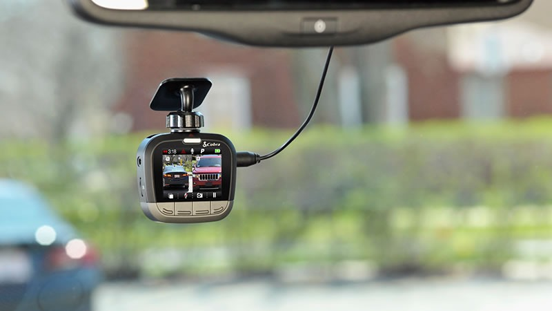 Cobra drive HD Dual Channel Dash Cam Review
