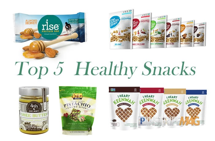 Top 5 Healthy Snack Foods