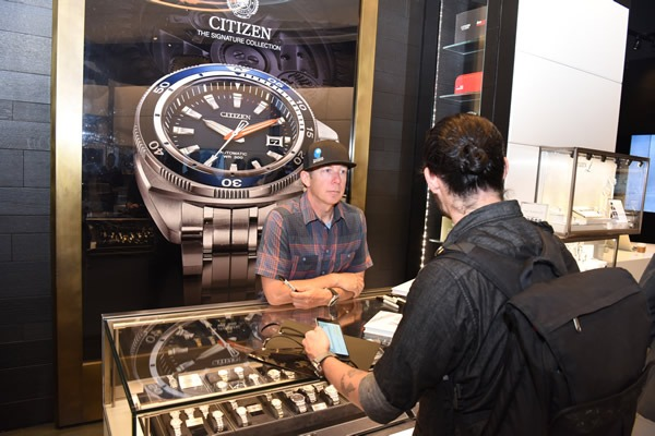 Eric Larsen Rockin Citizen ECO Drive Watch