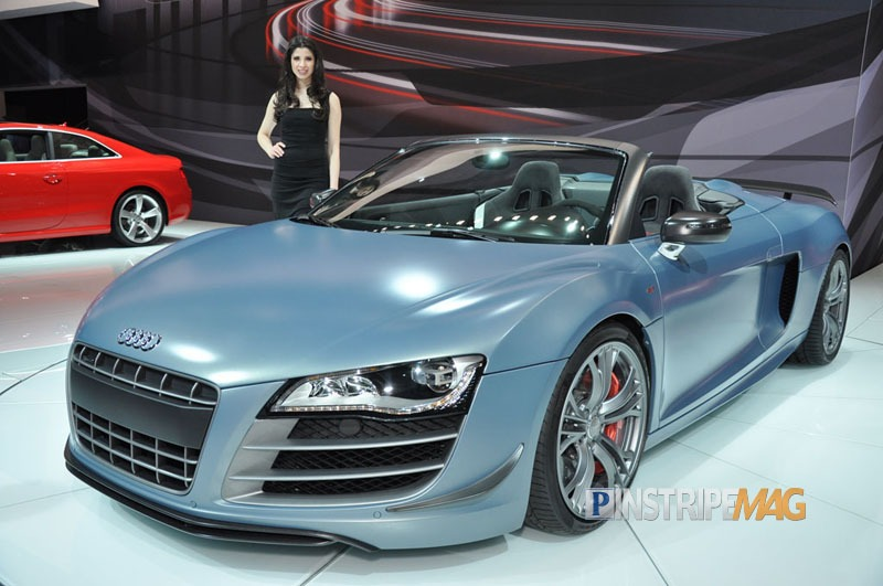 Audi R8 Gt Spyder Convertible Ny International Auto Show