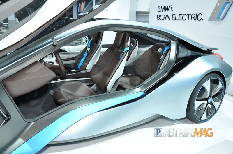 Bmw I8 Concept Spyder Ny International Car Show 2012 Pinstripe