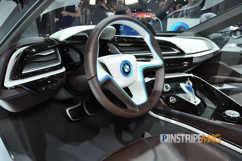 Bmw I8 Concept Spyder Interior Ny International Car Show 2012