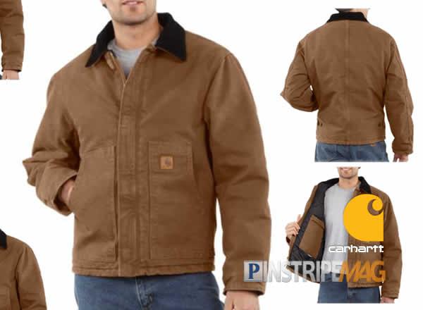 Carhartt Men's Sandstone Traditional Jacket Arctic Quilt-lined ... : carhartt arctic quilt - Adamdwight.com